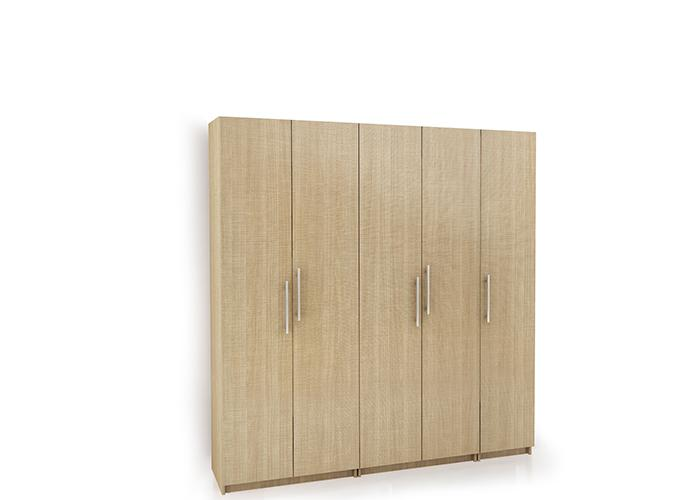 Buy particle board wardrobe online arusha for Particle board laminate finish